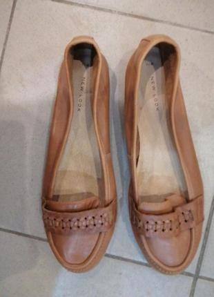Туфли-мокасины женские,