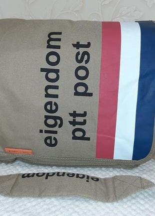 Крепкая стильная сумка,торба eigendom оригинал новая голландия