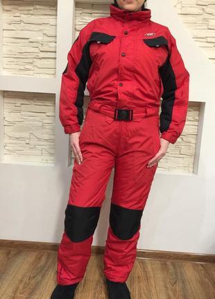 Лыжный костюм зимний комбинезон термо ydi италия р.xs-s (рост 158) унисекс