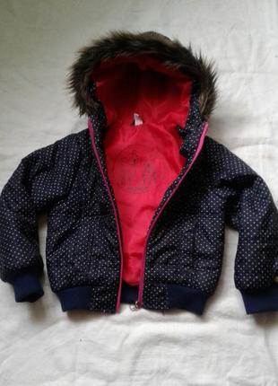 Курточка для девочки рост 116 см