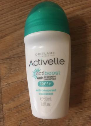 Шариковый дезодорант-антиперспирант 48-часового действия oriflame activelle actibo