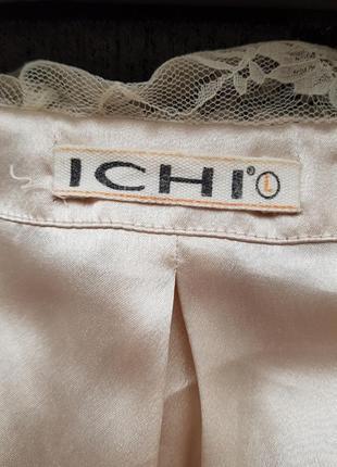 Брендовое топовое болеро накидка пиджак жакет блейзер ichi кружева гипюр #розвантажуюсь