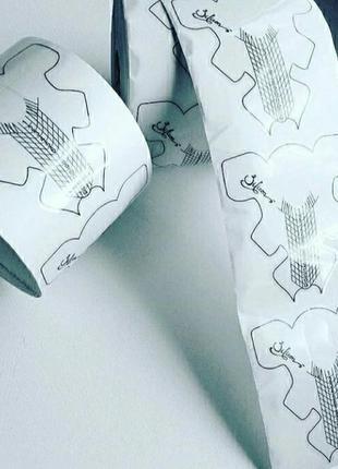 Пластиковые формы для наращивания ногтей тм silicon