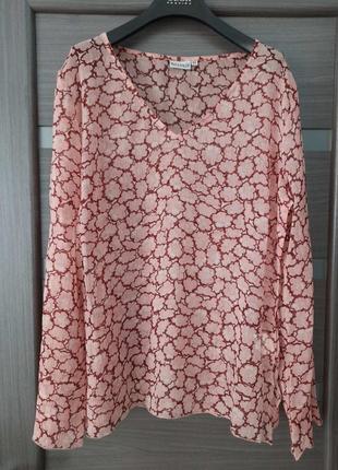 Блуза туника  шифон размер 16