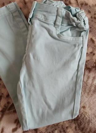 Джинсы ,штани на девочку 116р