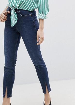 Крутые джинсы river island с разрезами спереди