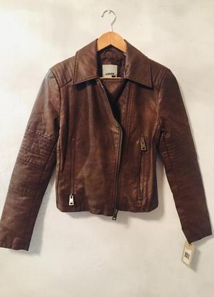 Куртка эко кожа levi's, оригинал из сша