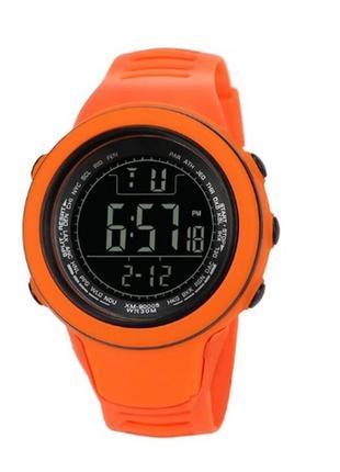 Спортивные мужские часы disu в оранжевом цвете