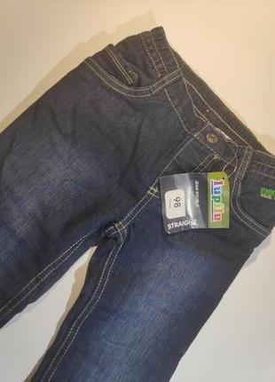 Утеплённые детские джинсы