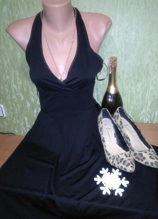 Вечернее платье (для выпуска) с открытой спиной