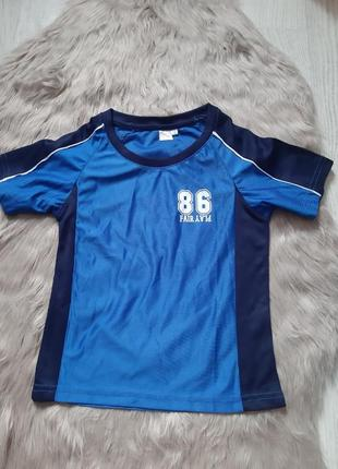 Crane синяя футболка для футбола спортивная форма