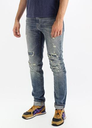 Джинсы levis made and crafted tack slim selvedge w30 l34