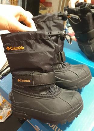 Сапожки термосапожки  ботинки columbia
