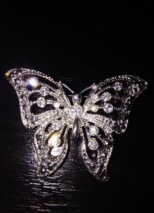 Нежная и изящная, легкая и парящая! брошь бабочка !