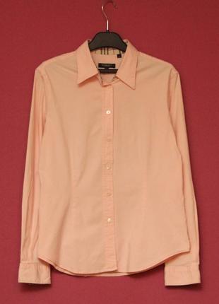 Burberry xl рубашка из хлопка и эластина