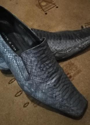 Оригинальные мужские туфли