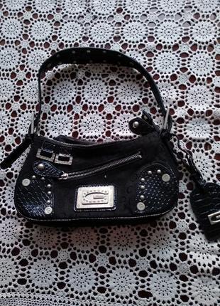 Сумочка с кошельком gussaci стильная,модная сумка италия.