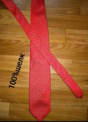 Jan paulsen стильный шелковый галстук
