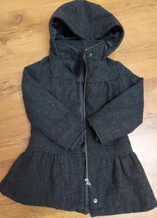 Пальто m&s демисезонное утепленное с юбочкой