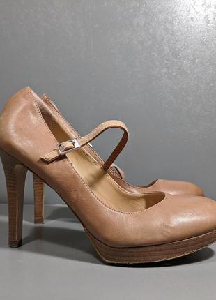 Bocage. туфли кожаные. italy кожа высокий каблук