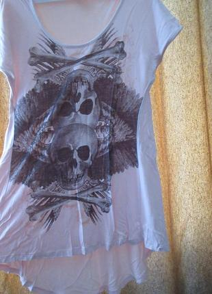 Rock футболка череп, gina tricot
