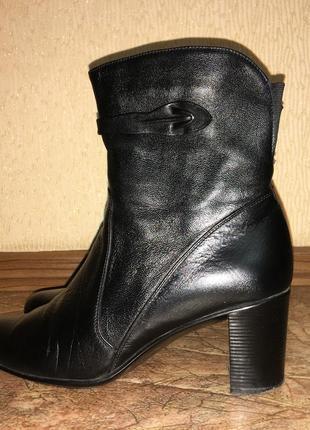 Ботинки козаки,  сапожки демисезонные
