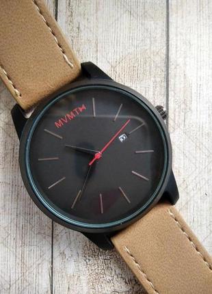 Стильные мужские часы с датой, в стиле mvmt.