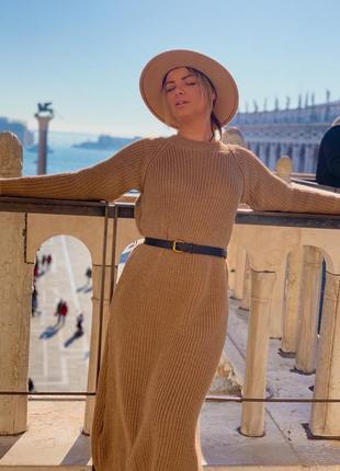 Платье вязаное италия