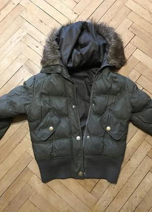 Куртка denim co с капюшоном