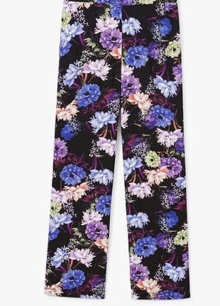 Летние, легкие широкие штаны женские