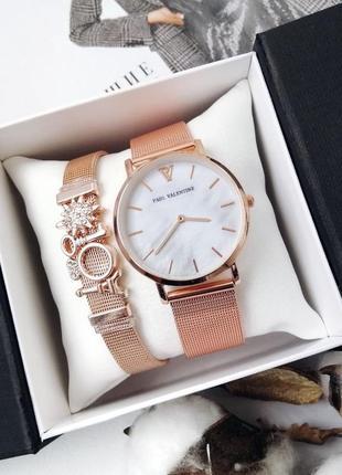 Часы и браслет годинник в упаковке