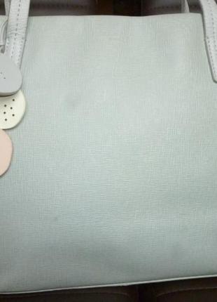 Стильная вместительная сумка натуральная сафьяновая кожа radley