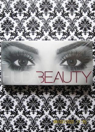 Накладные ресницы huda beauty - scarlett #8 {многоразовые} - 0.6-1.8 см