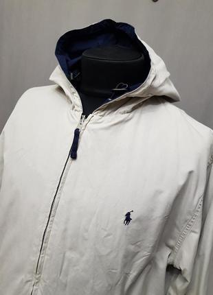 Двусторонняя ветровка курточка ralph lauren