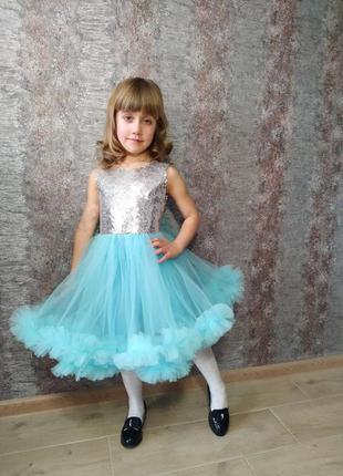 Фатиновое платье, платя для дівчинки