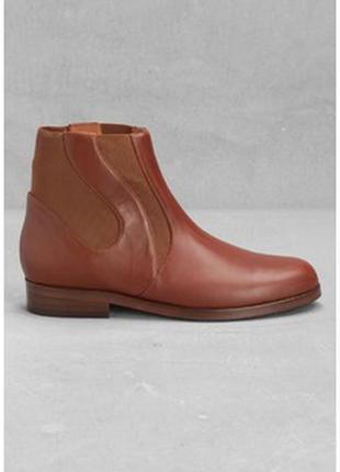 Ботинки челси от other stories кожа