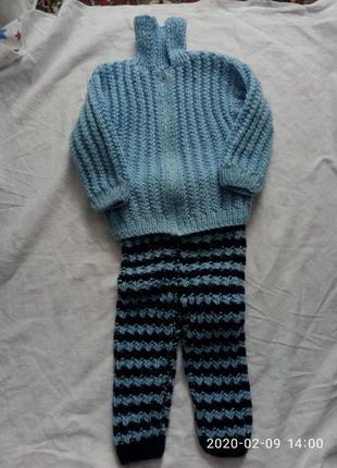 Теплый костюм для мальчика