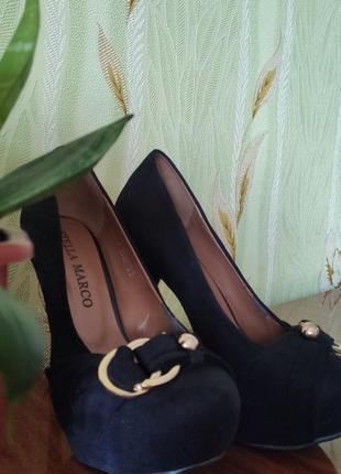 Туфли stella marco замш 35