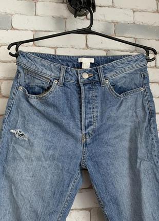 🖤mom джинсы на высокой посадке от h&m🖤