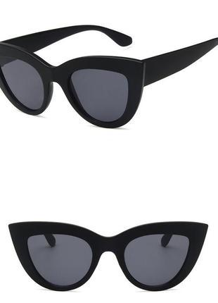 4-42 элегантные солнцезащитные очки с матовой оправой елегантні сонцезахисні окуляри3 фото