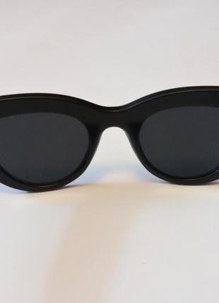 4-42 элегантные солнцезащитные очки с матовой оправой елегантні сонцезахисні окуляри4 фото