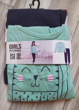 Нежная качественная пижама для девочки распродажа