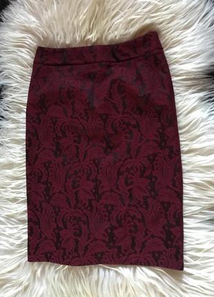Laura ashley юбка оригинал карандаш ажурная кружевная кружево