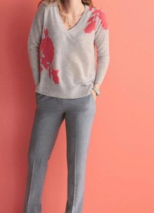 Стильные классические  шерстяные брюки на подкладке pure