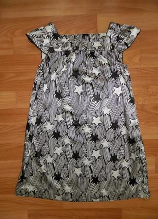 Платье h&m атласное р.134