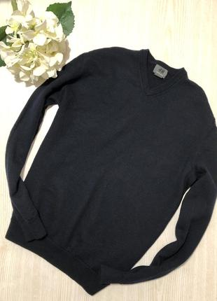 Шерстяной свитер h&m s