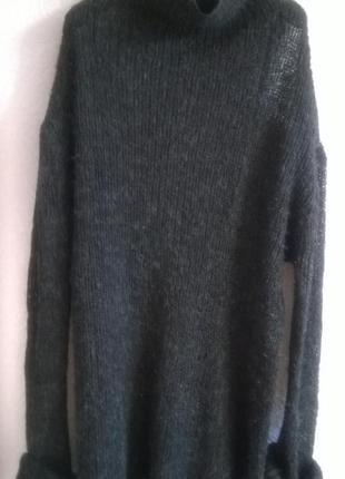 Marni,оригинал, свитер мохеровый,полупрозрачный