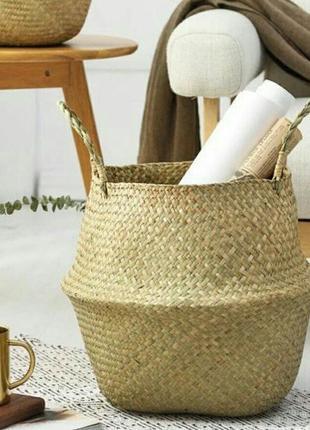 Распродажа!!!корзина плетёная в скандинавском стиле ikea,jysk