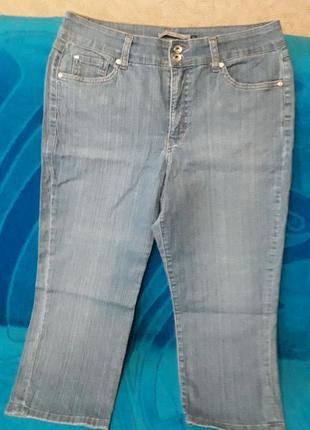 Бермуды bandolino blue denim jeans
