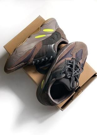 Adidas yeezy boost 700 mauve шикарные мужские кроссовки адидас изи буст